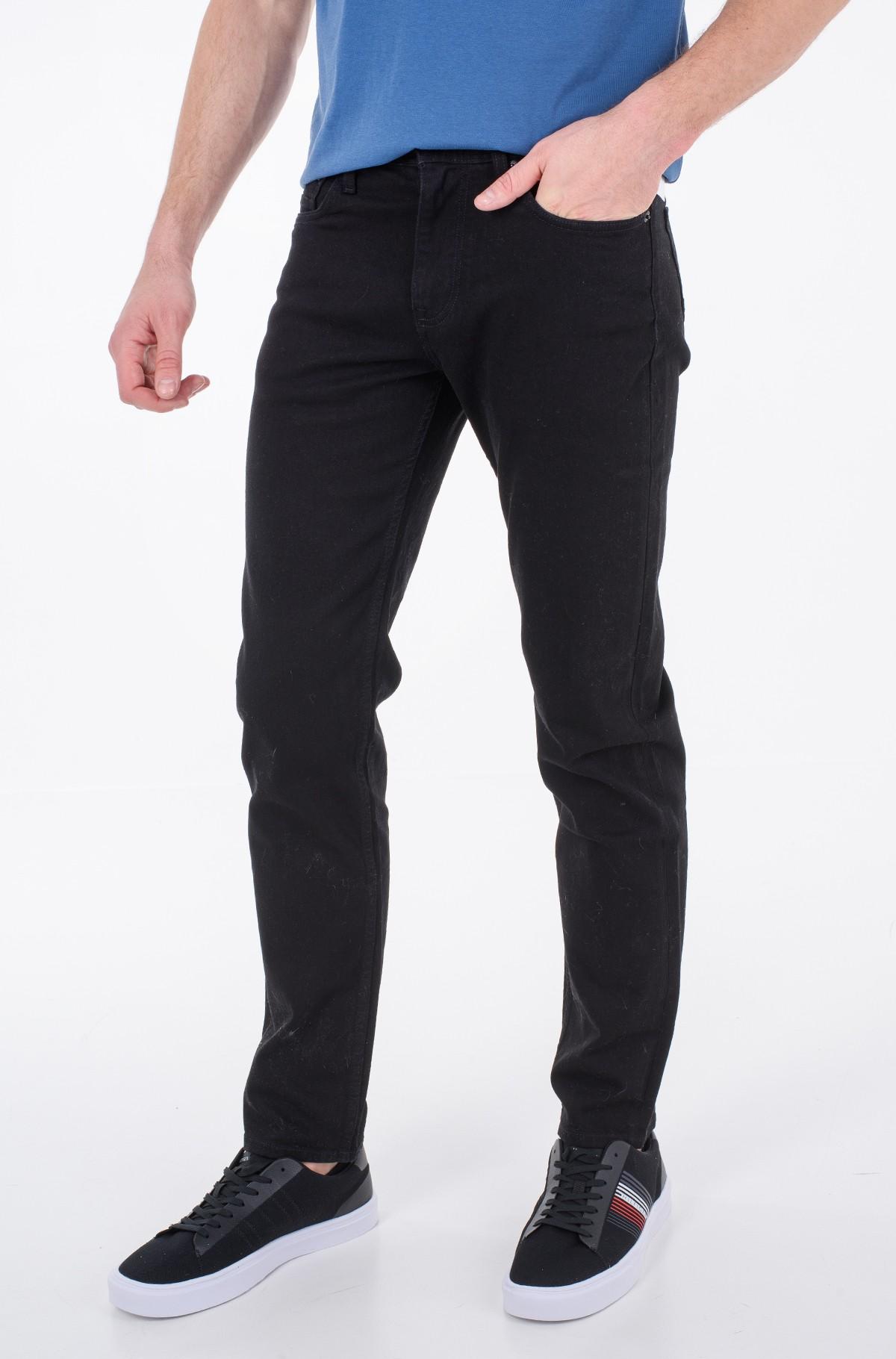 Džinsinės kelnės CORE DENTON CHELSEA BLCK-full-1