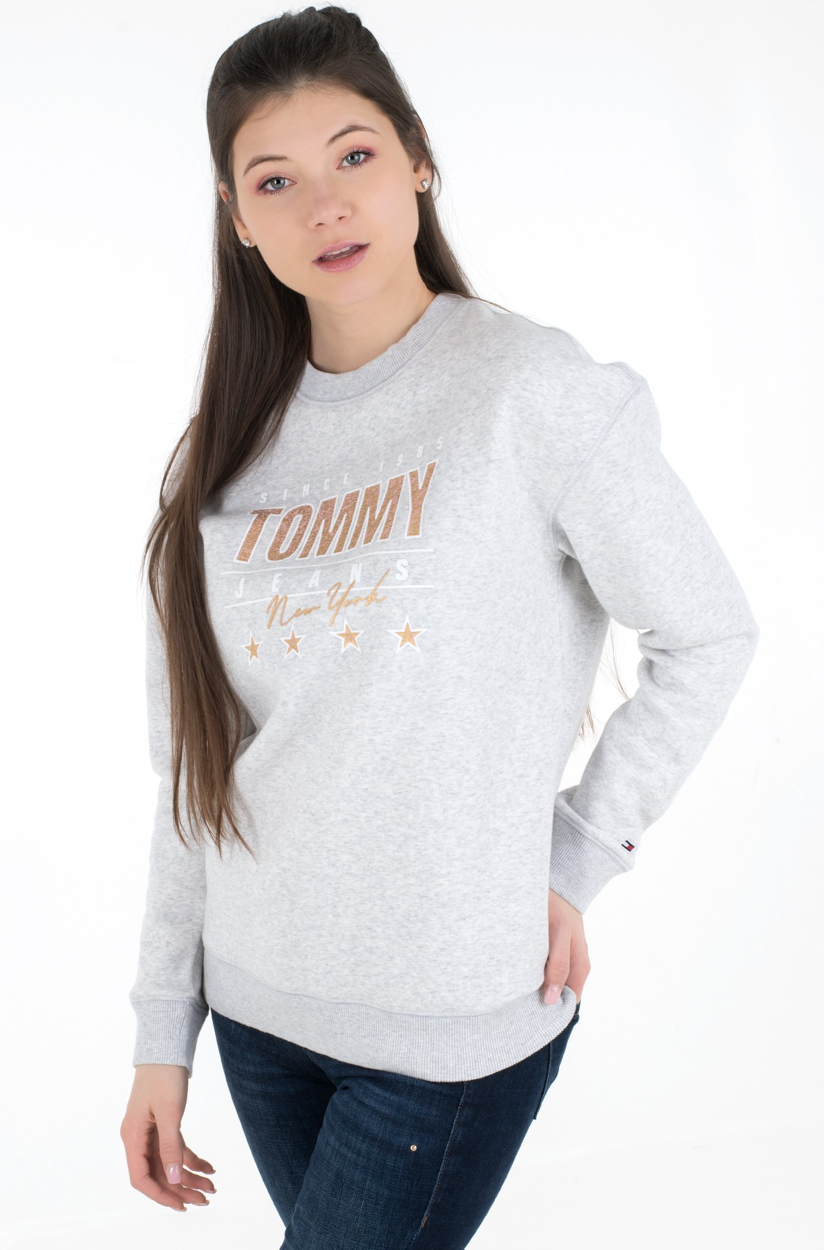Sporta džemperis TJW METALLIC TOMMY SWEATSHIRT-full-1