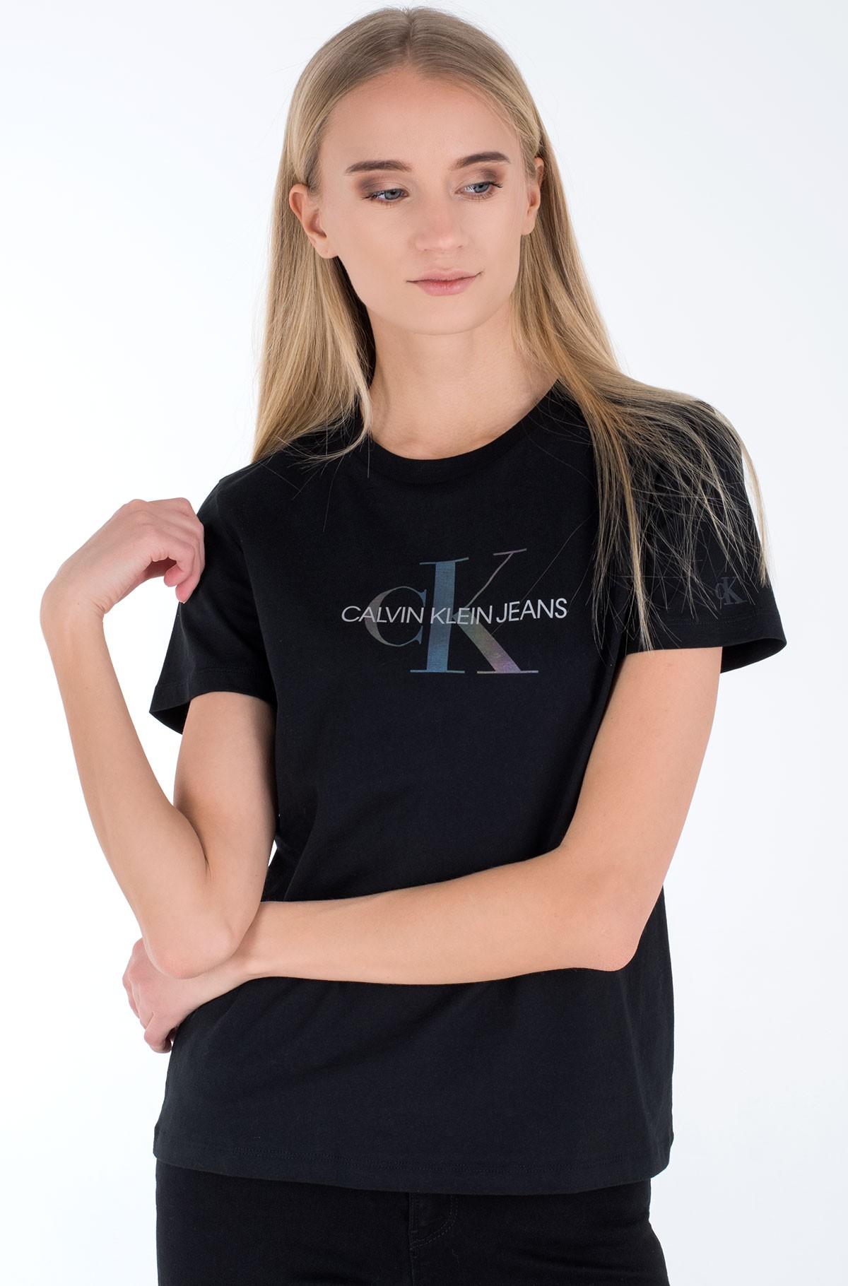 T-shirt REFLECTIVE MONOGRAM TEE-full-1
