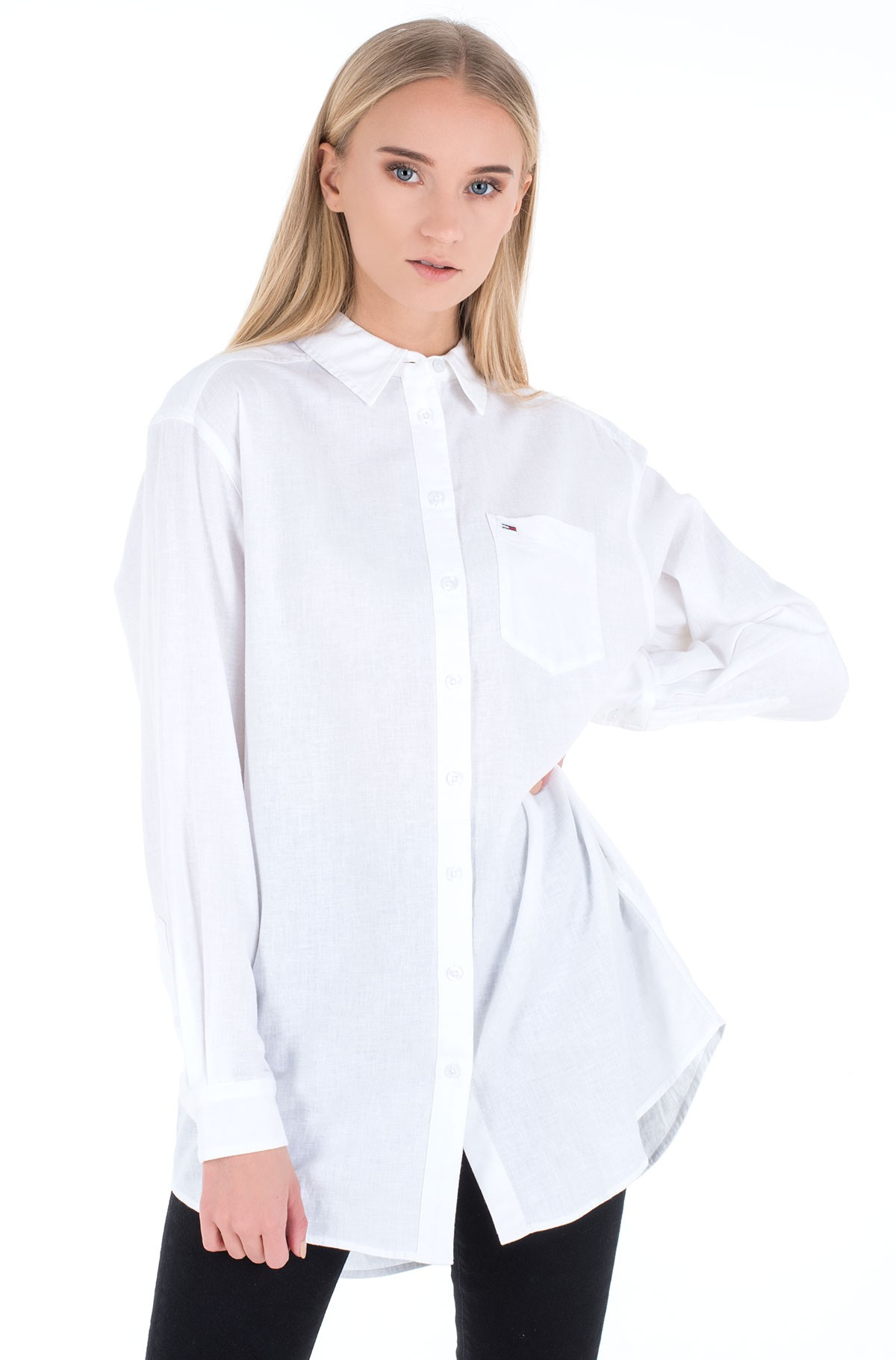 Linane triiksärk TJW RELAXED LONG SHIRT-full-1