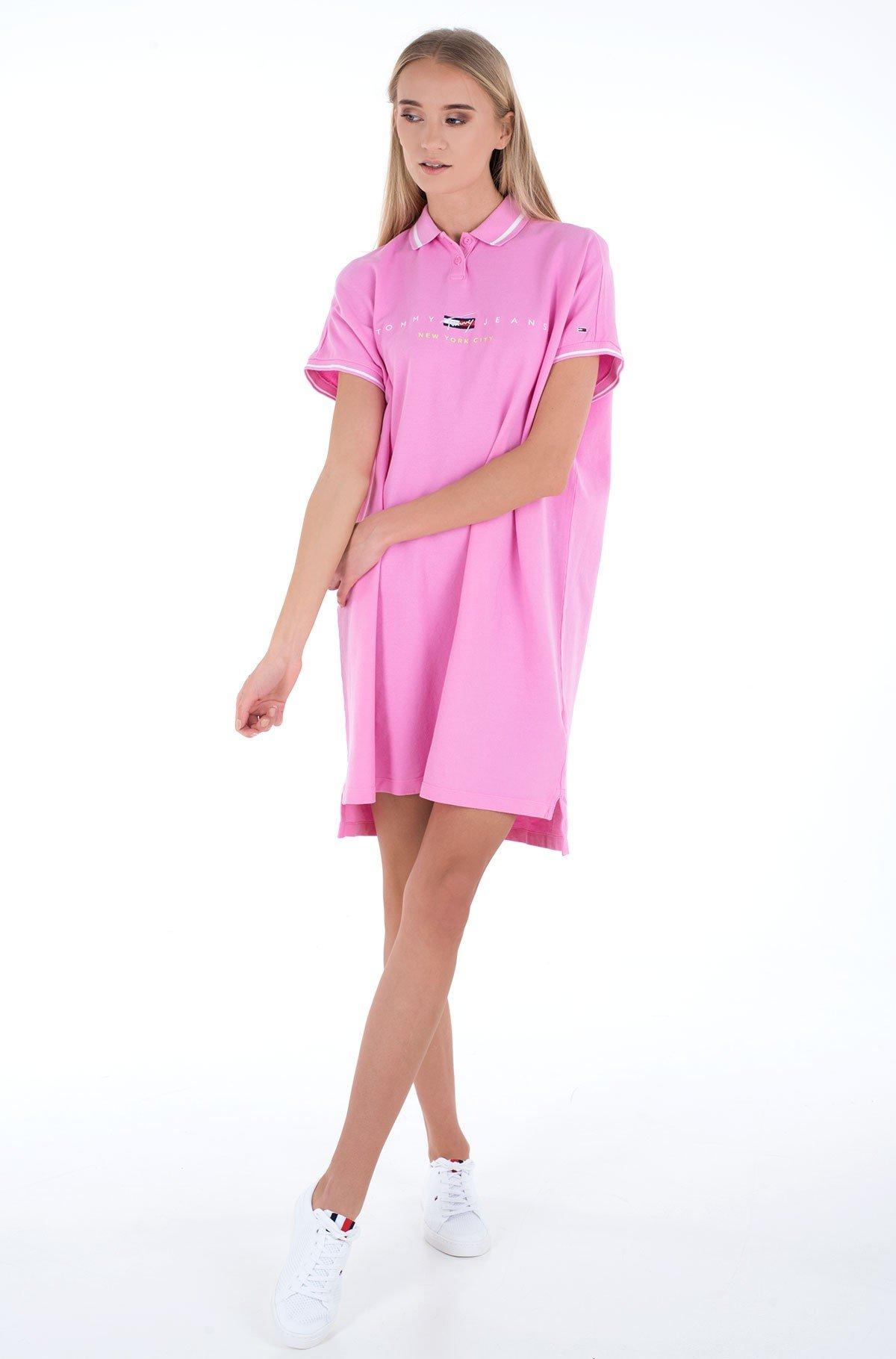 Polo suknelė TJW MODERN LOGO POLO DRESS-full-1