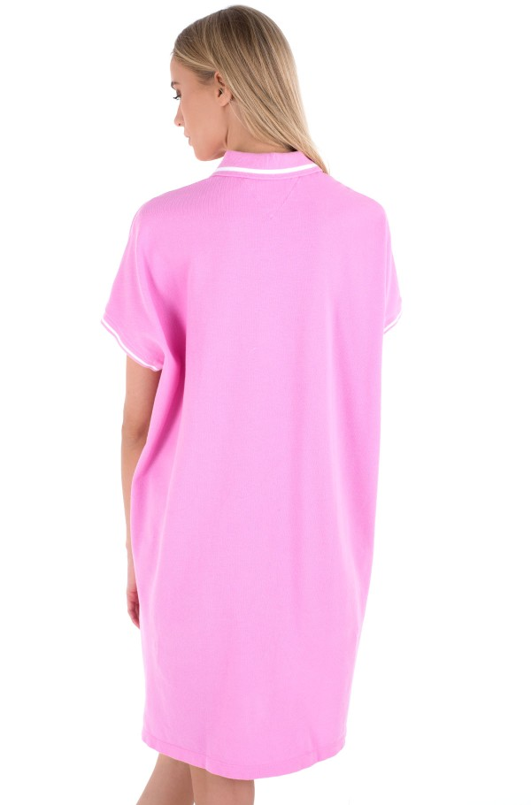 TJW MODERN LOGO POLO DRESS-hover