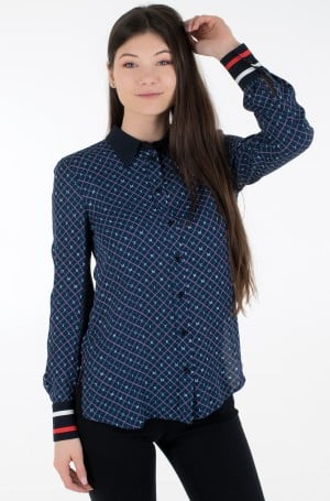Pluus VIS CREPE REGULAR BLOUSE LS-1