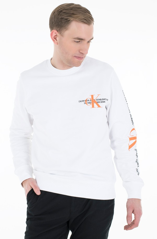 CK URBAN GRAPHIC LOGO CREW NECK