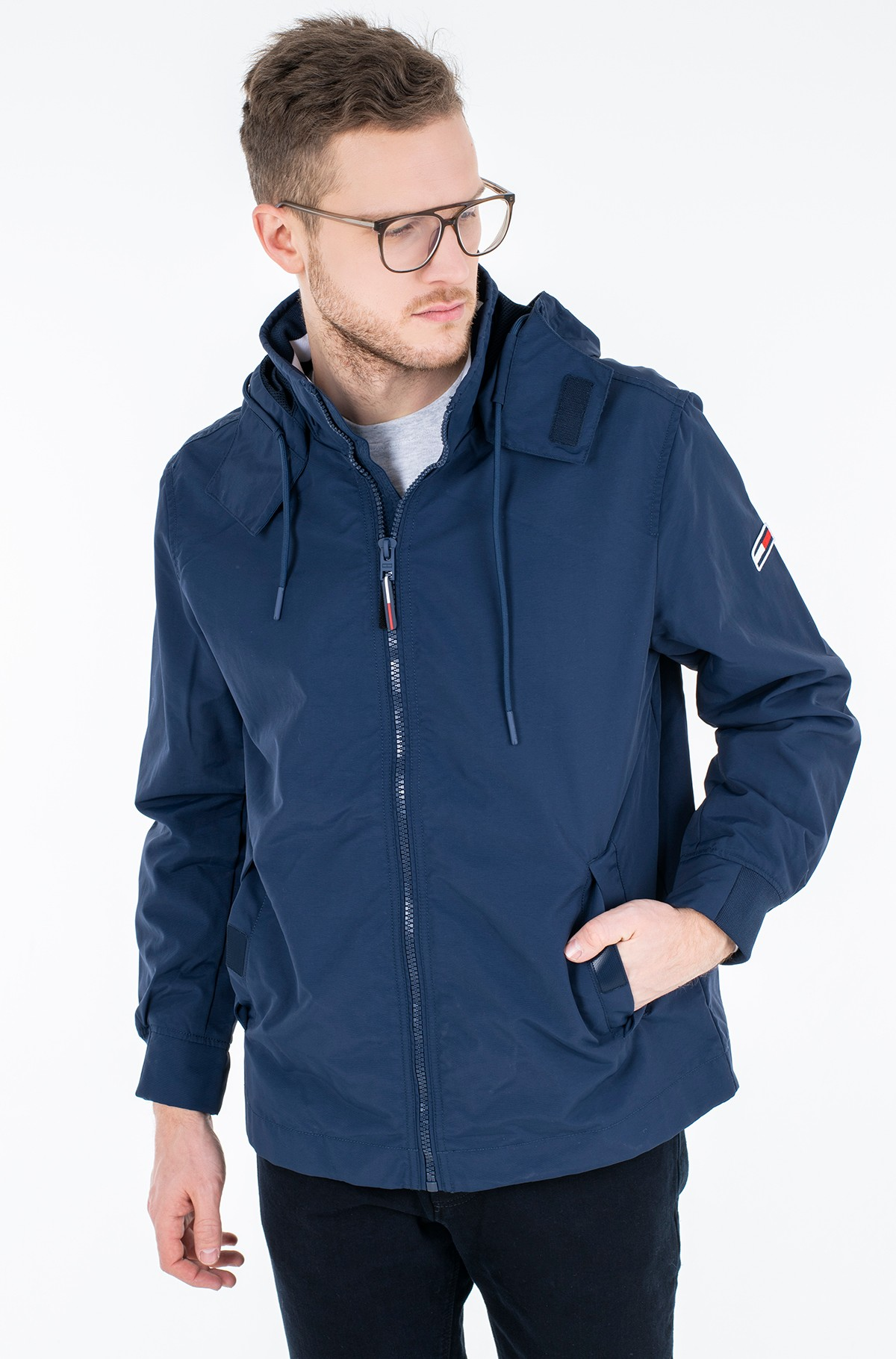Jacket TJM ESSENTIAL HOODED JACKET-full-1