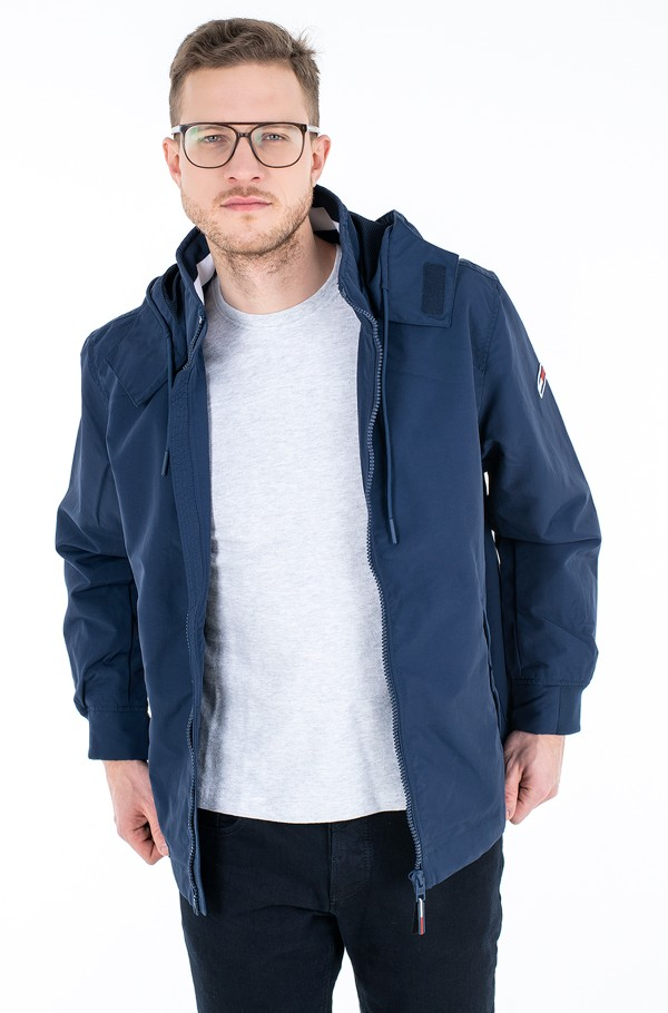TJM ESSENTIAL HOODED JACKET-hover
