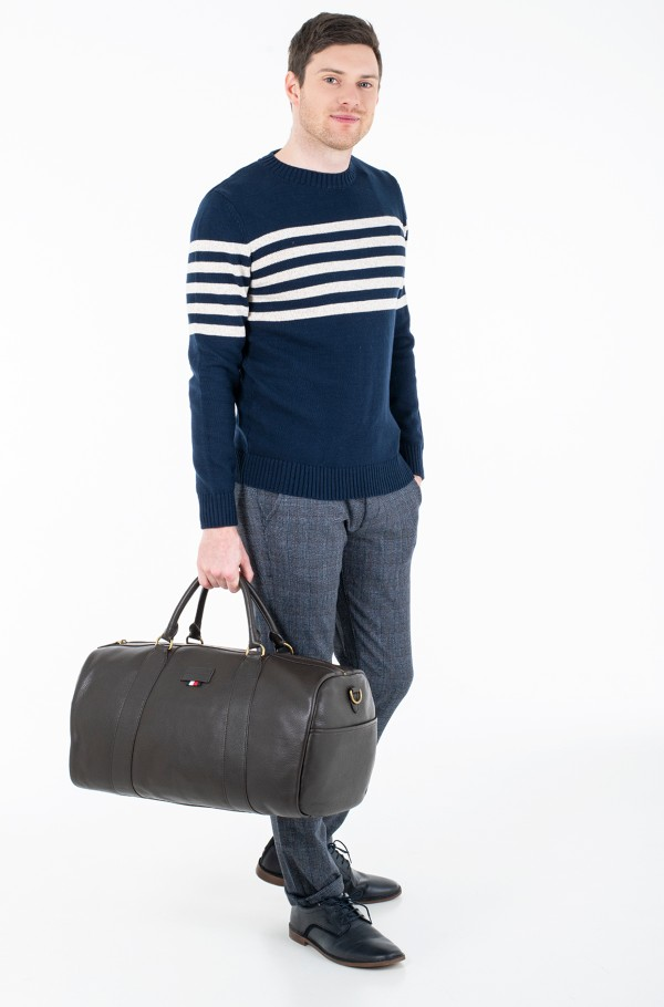 CASUAL LEATHER DUFFLE