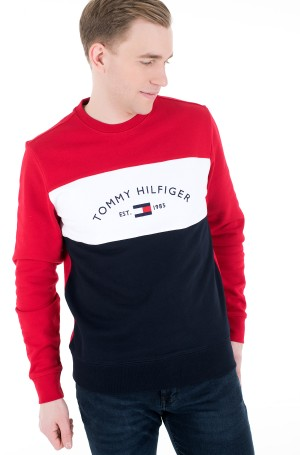 Dressipluus EMBROIDERED SIGNATURE CREWNECK-1