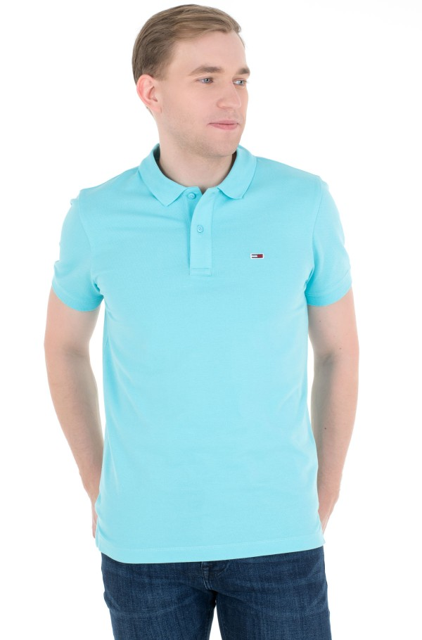 TJM CLASSICS SOLID STRETCH POLO