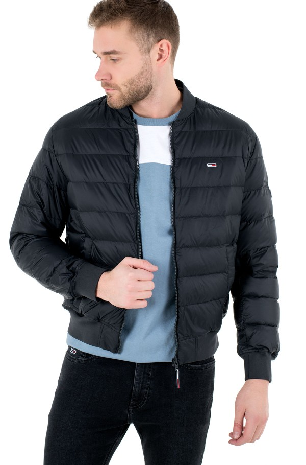 TJM LIGHT DOWN BOMBER JACKET-hover