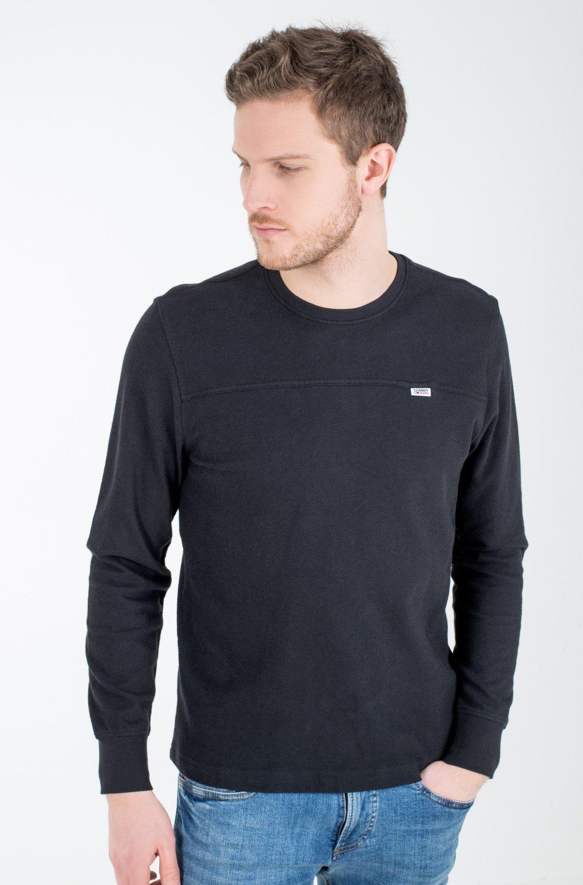 T-krekls ar garām piedurknēm  TJM FRONT SEAM DETAIL TEE-full-1