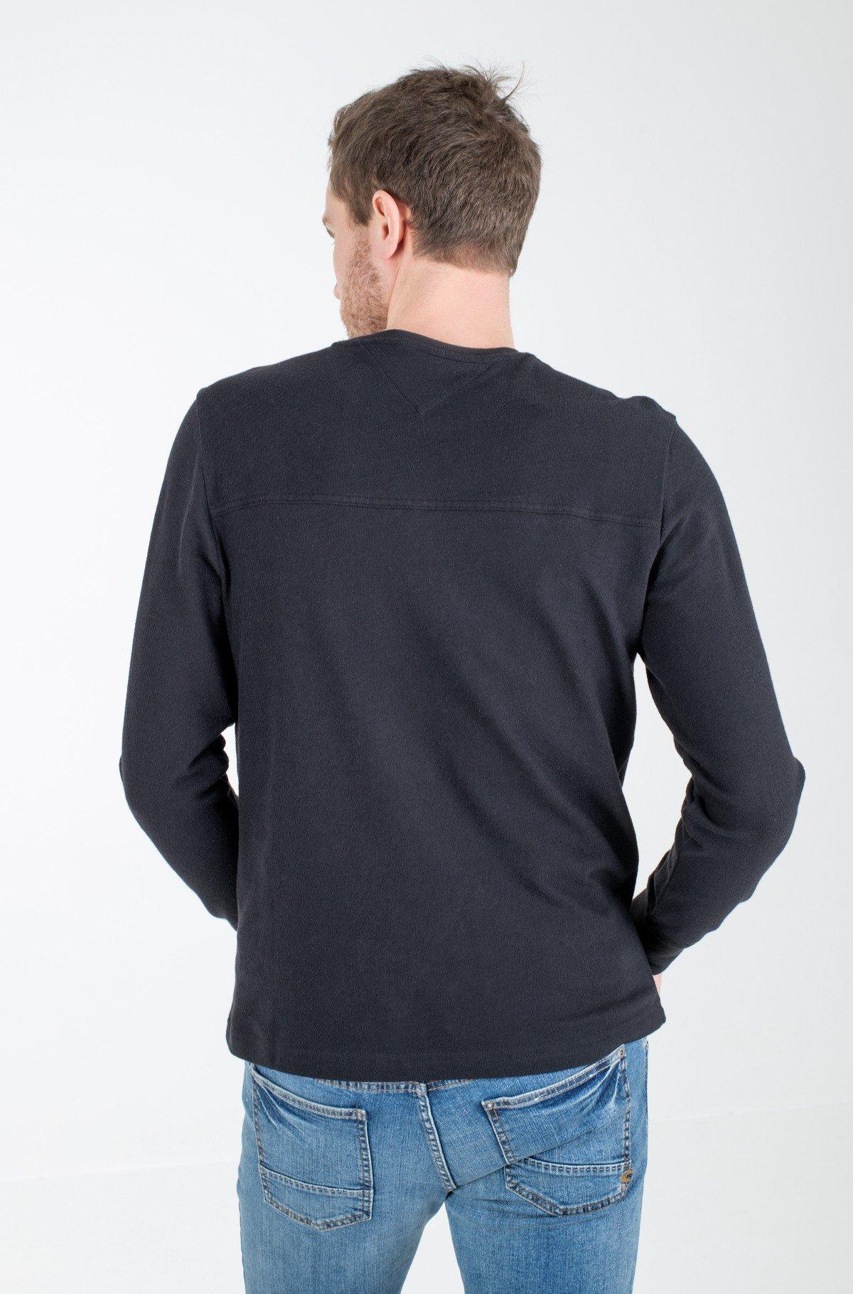 T-krekls ar garām piedurknēm  TJM FRONT SEAM DETAIL TEE-full-2