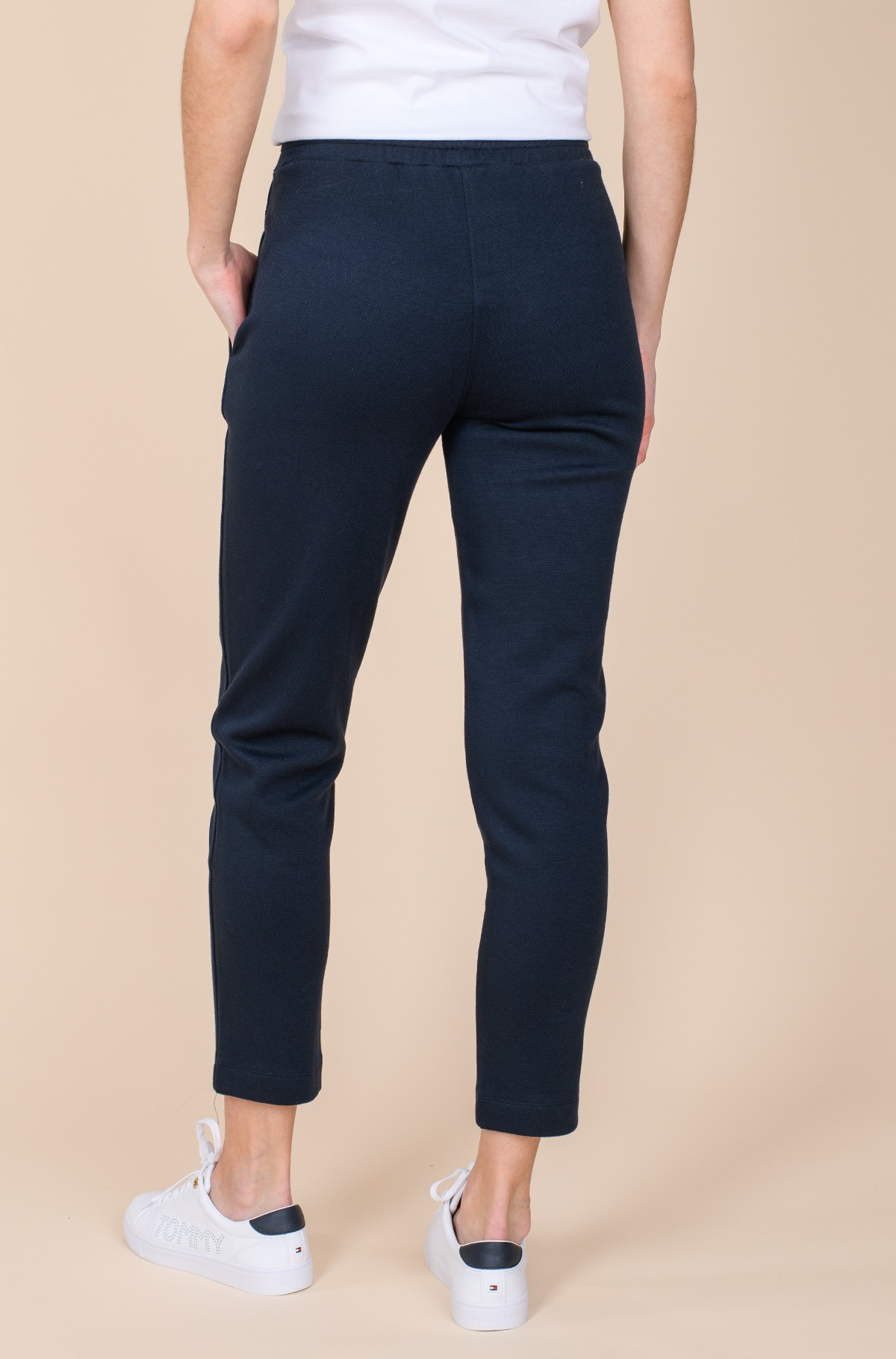 Sportinės kelnės PIQUE TAPERED PANT-full-2
