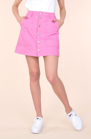 Seelik TJW BADGE BUTTON THROUGH SKIRT-1