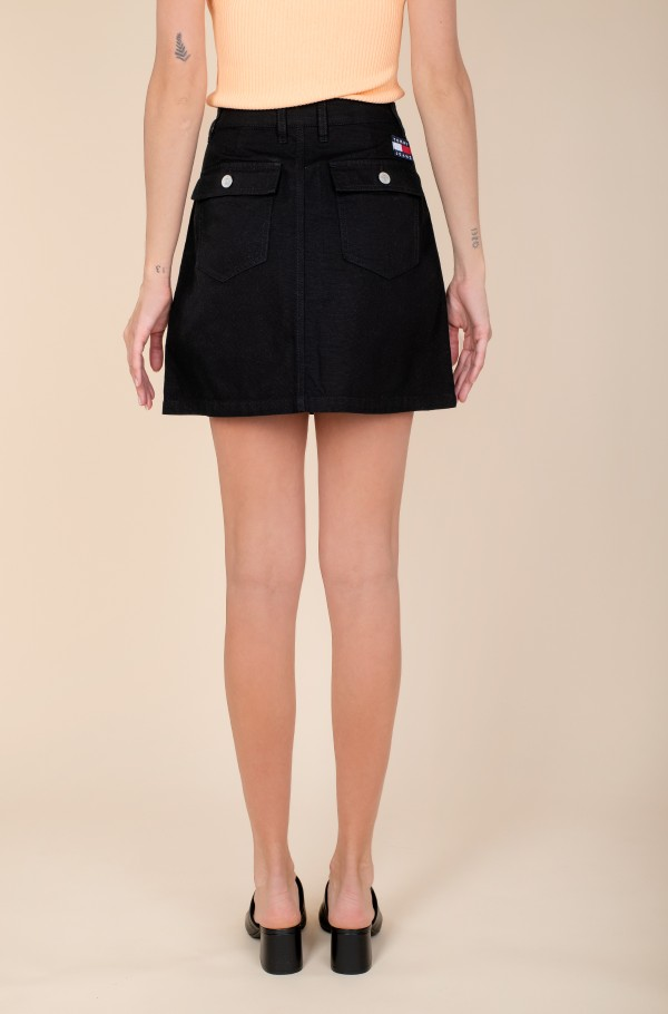TJW BADGE BUTTON THROUGH SKIRT-hover