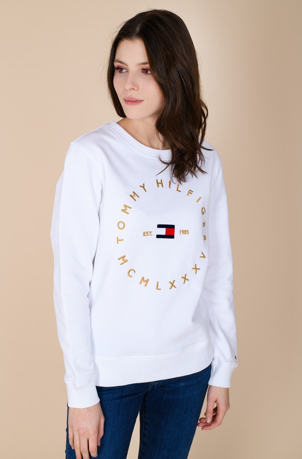 REGULAR CIRCLE C-NK SWEATSHIRT