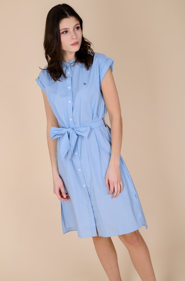 OXFORD KNEE SHIRT DRESS NS-hover