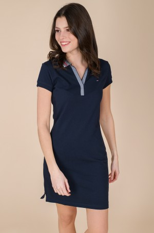Polodress TIPPING SLIM POLO SHORT DRESS SS-1