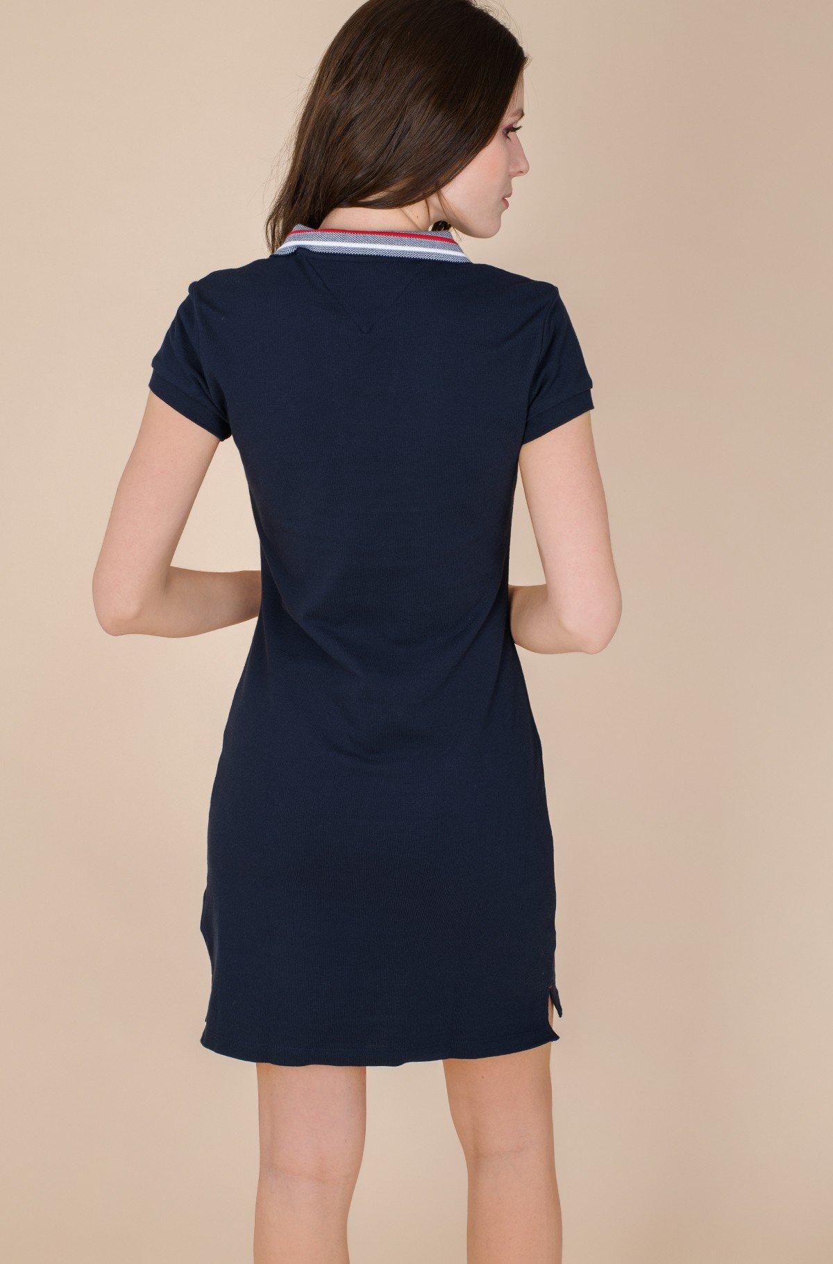 Polodress TIPPING SLIM POLO SHORT DRESS SS-full-2