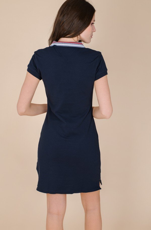 TIPPING SLIM POLO SHORT DRESS SS-hover