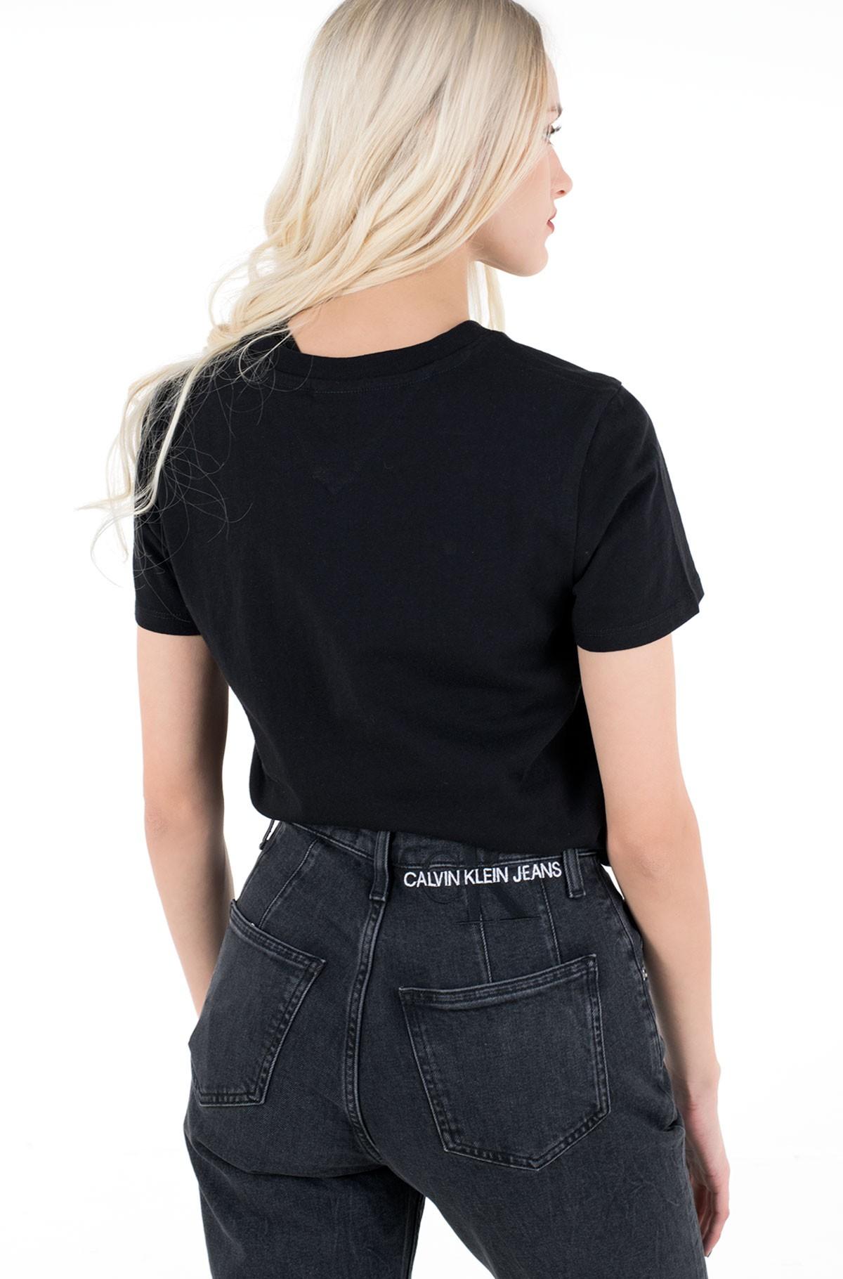 Marškinėliai TJW SLIM FLORAL PRINT TEE-full-2