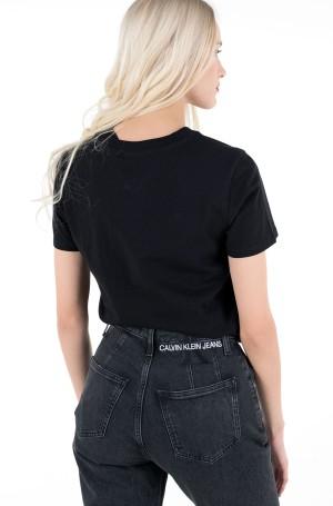 Marškinėliai TJW SLIM FLORAL PRINT TEE-2