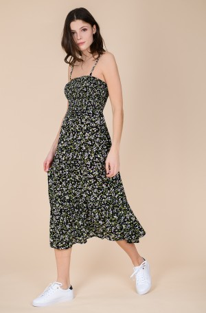 Kleit TJW SMOCK MIDI FLORAL DRESS	-1