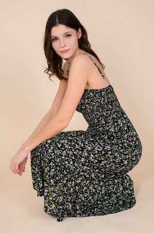 Kleit TJW SMOCK MIDI FLORAL DRESS	-2