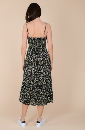 Kleit TJW SMOCK MIDI FLORAL DRESS	-4