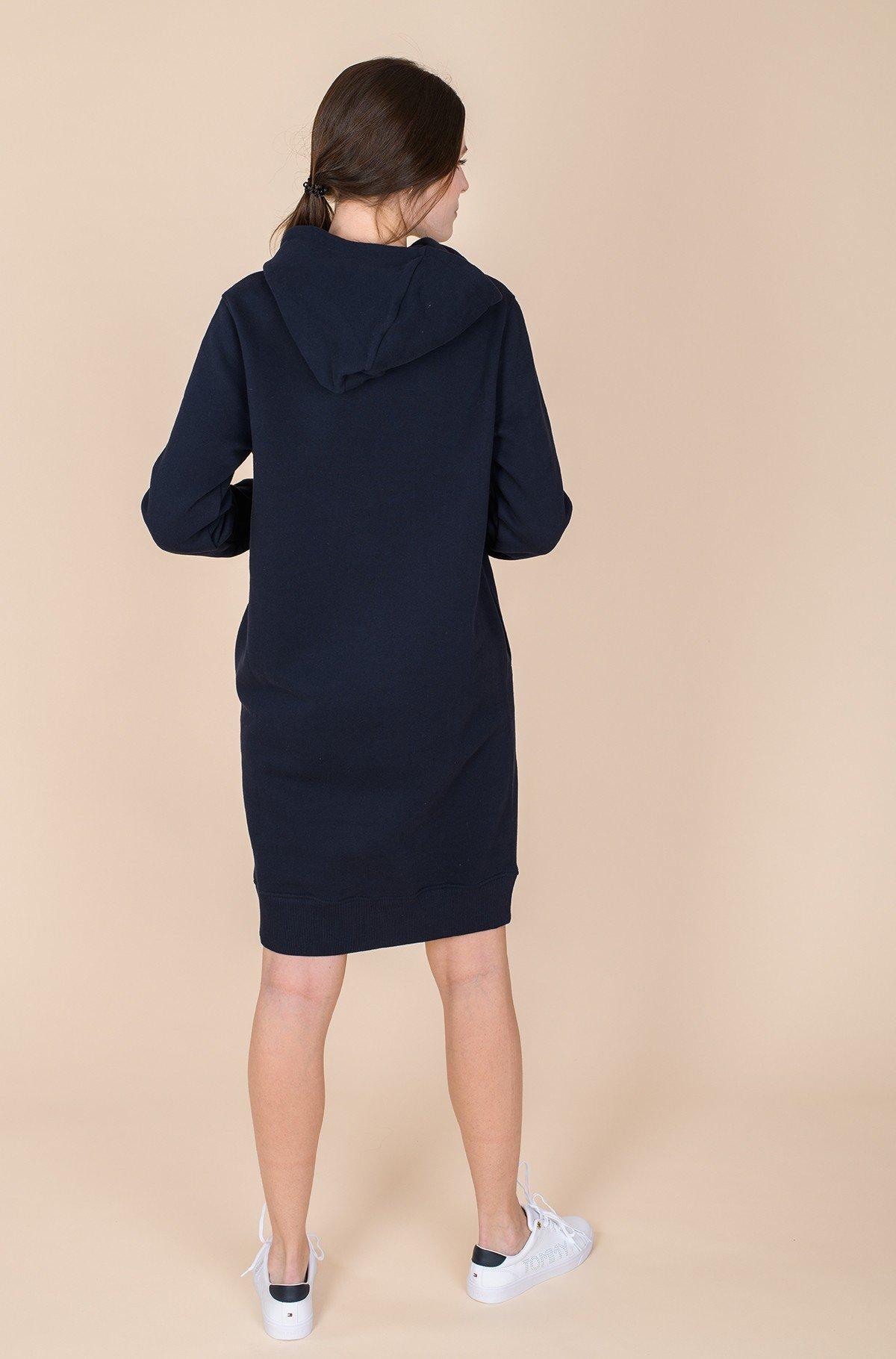 Sweatshirt dress CIRCLE HOODIE SHORT DRESS LS-full-4