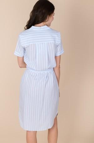 Dress COT POPLIN KNEE SHIRT DRESS SS-4