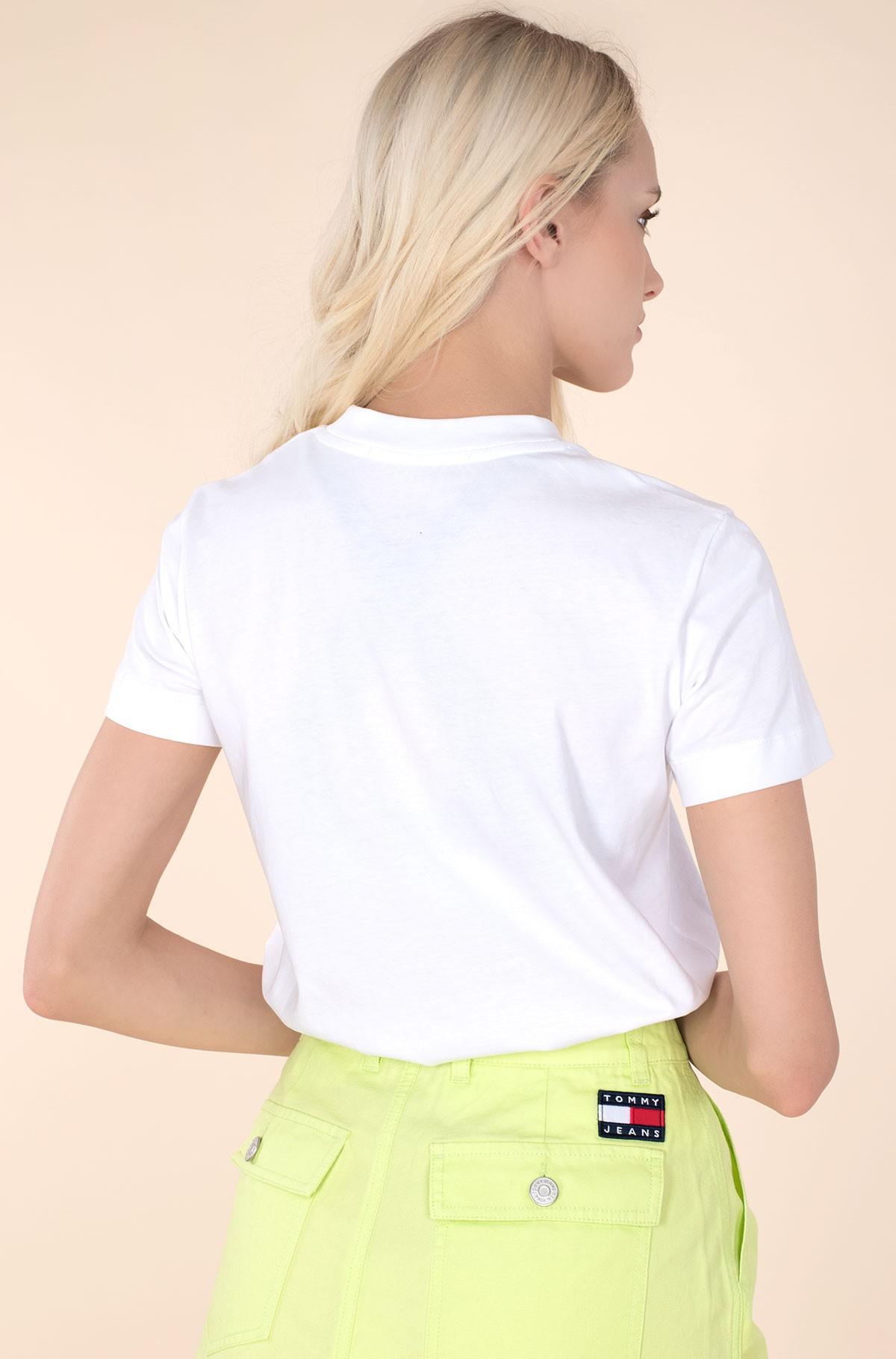 T-shirt MULTICOLORED LOGO TEE-full-3