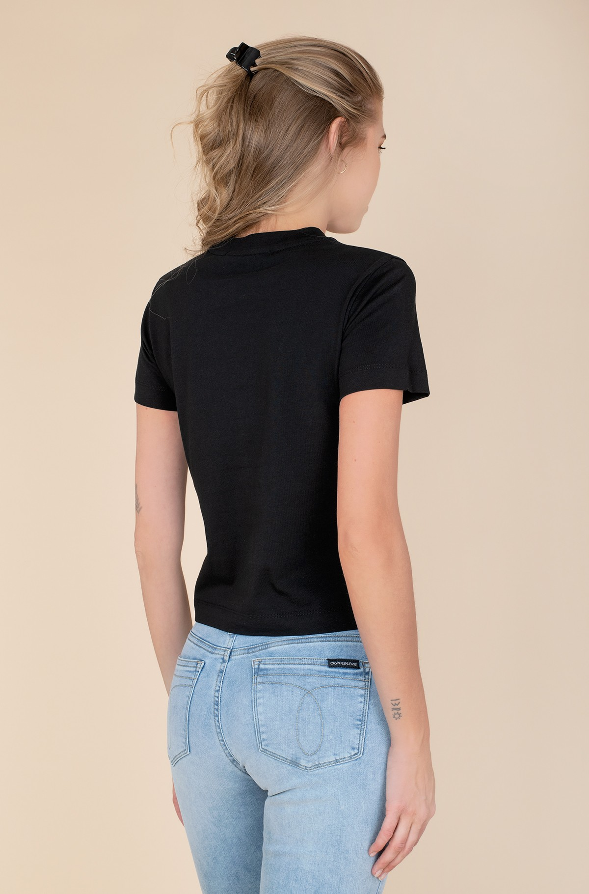T-shirt MULTICOLORED LOGO TEE-full-2