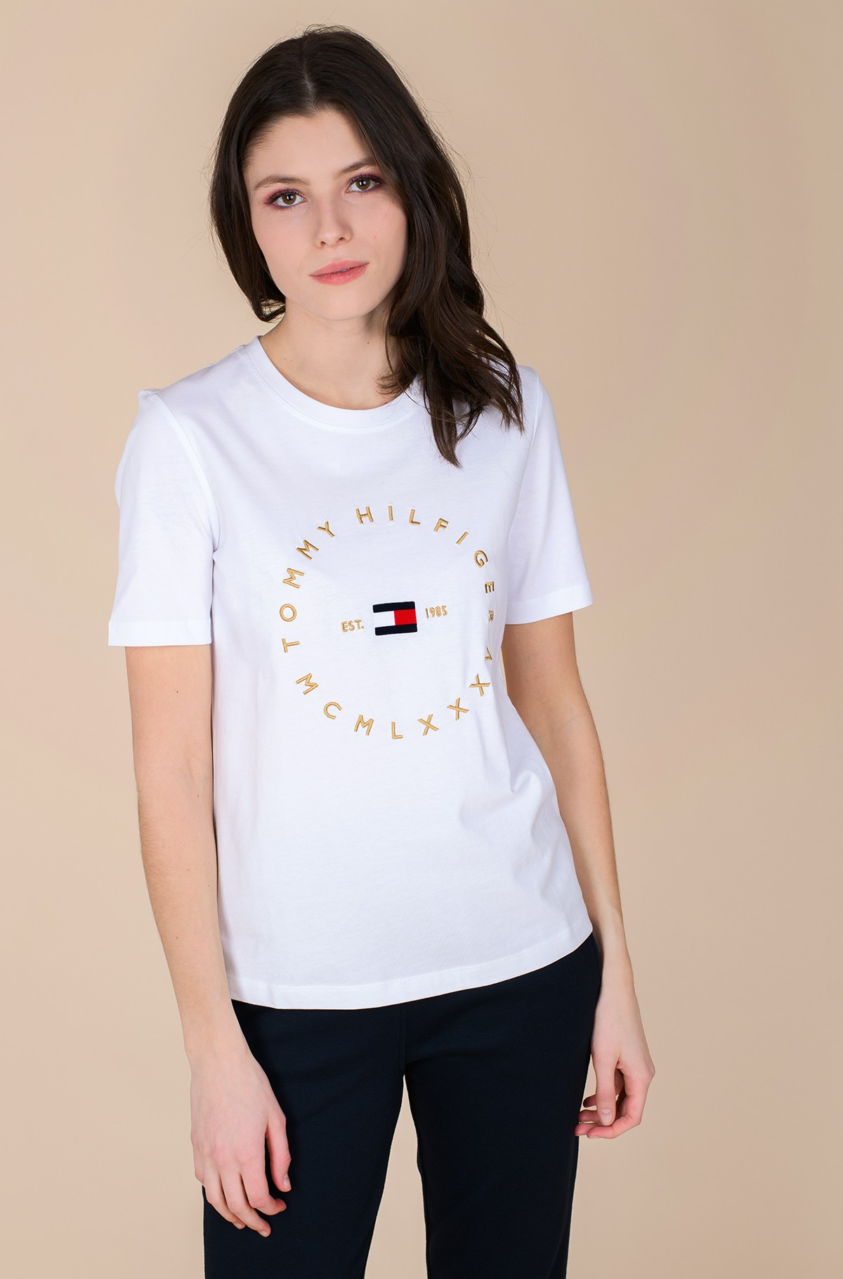 T-shirt REGULAR CIRCLE C-NK TEE SS-full-1