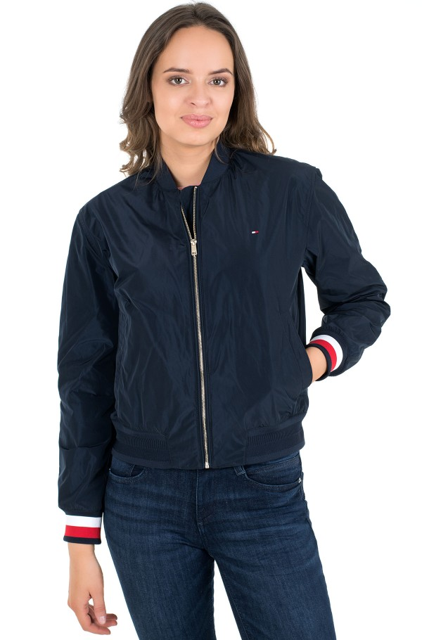 TH ESS POLY BOMBER JACKET-hover