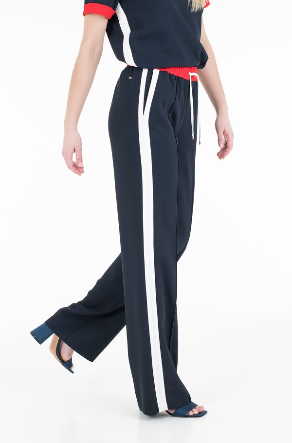 FLUID CREPE STRAIGHT LEG PANT-hover