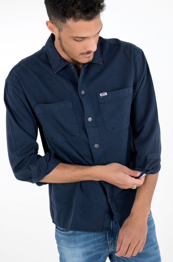 TJM LIGHTWEIGHT TWILL OVERSHIRT