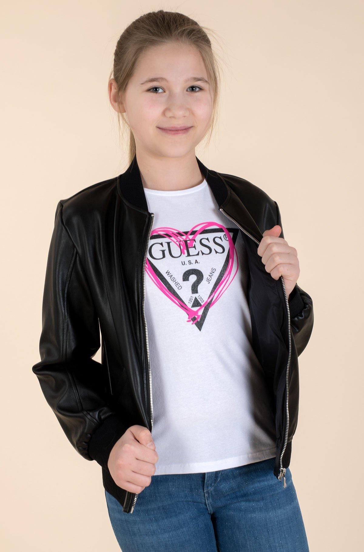 Children's leather jacket J1RL00 WBG60-full-1