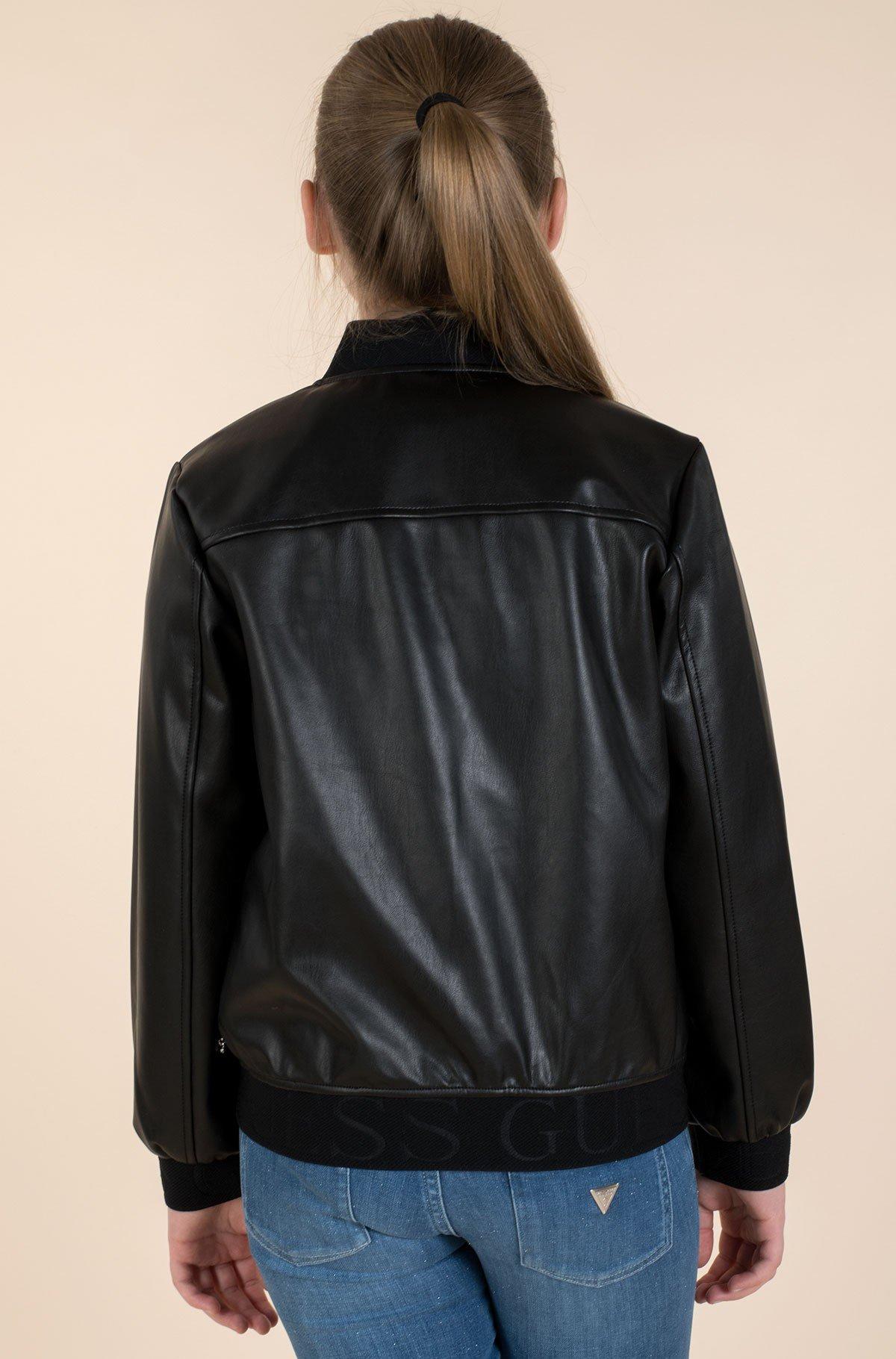 Children's leather jacket J1RL00 WBG60-full-3