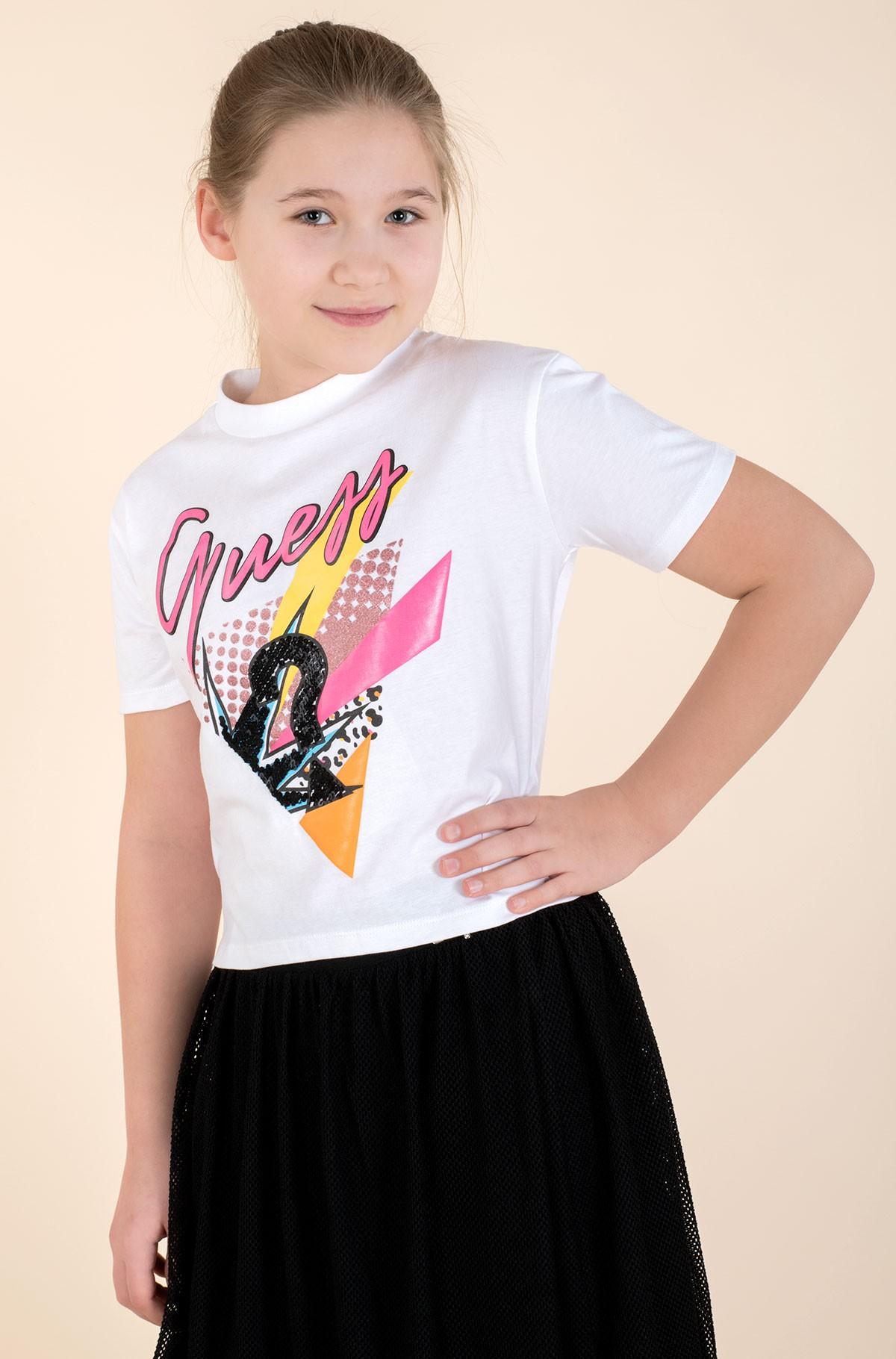 Vaikiški marškinėliai trumpomis rankovėmis J1RI08 K8HM0-full-1