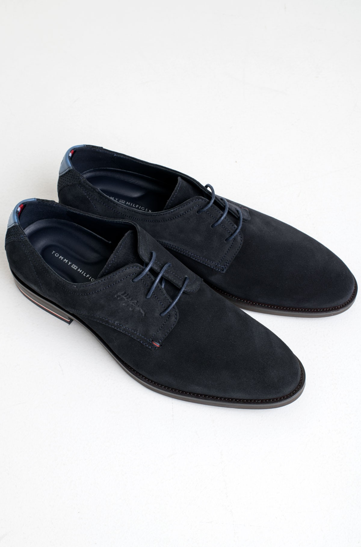 Kingad SIGNATURE HILFIGER SUEDE SHOE-full-1