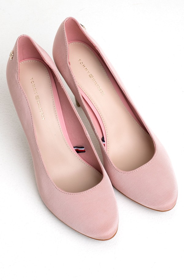 TOMMY ESSENTIAL HIGH HEEL PUMP-hover