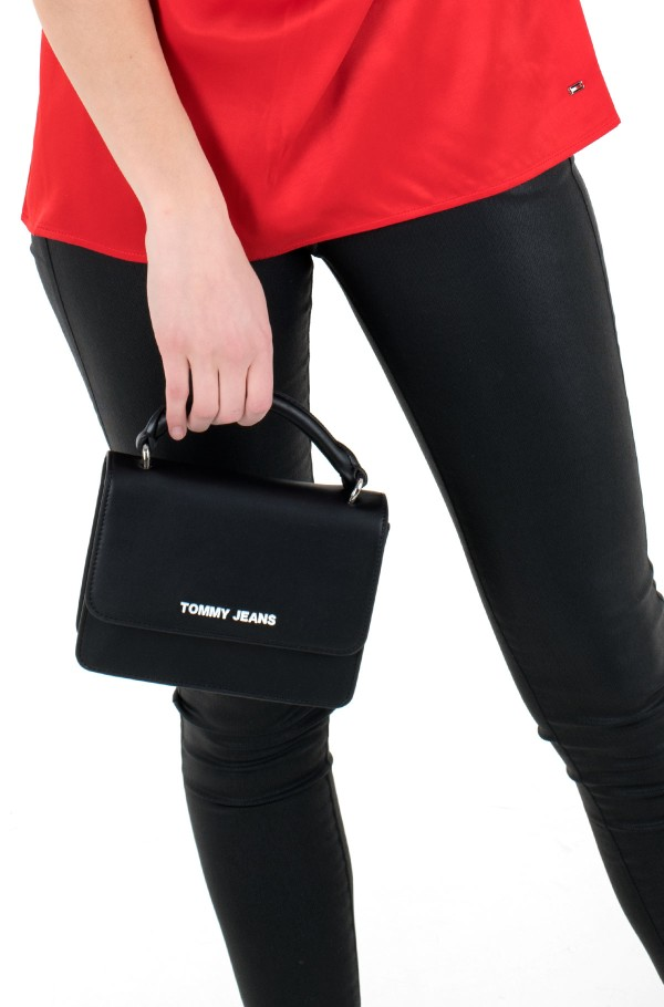 TJW FEMME PU FLAP CROSSOVER