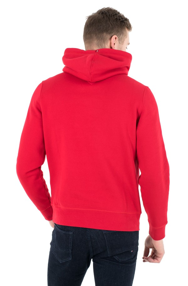 STACKED TOMMY FLAG HOODY-hover