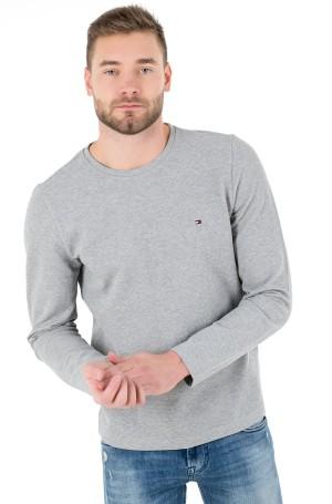 T-krekls ar garām piedurknēm  WAFFLE LONG SLEEVE TEE-1