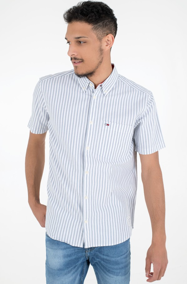TJM STRIPED SHORTSLEEVE SHIRT