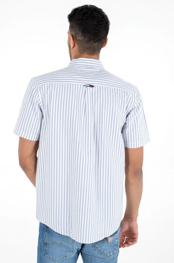 TJM STRIPED SHORTSLEEVE SHIRT-hover