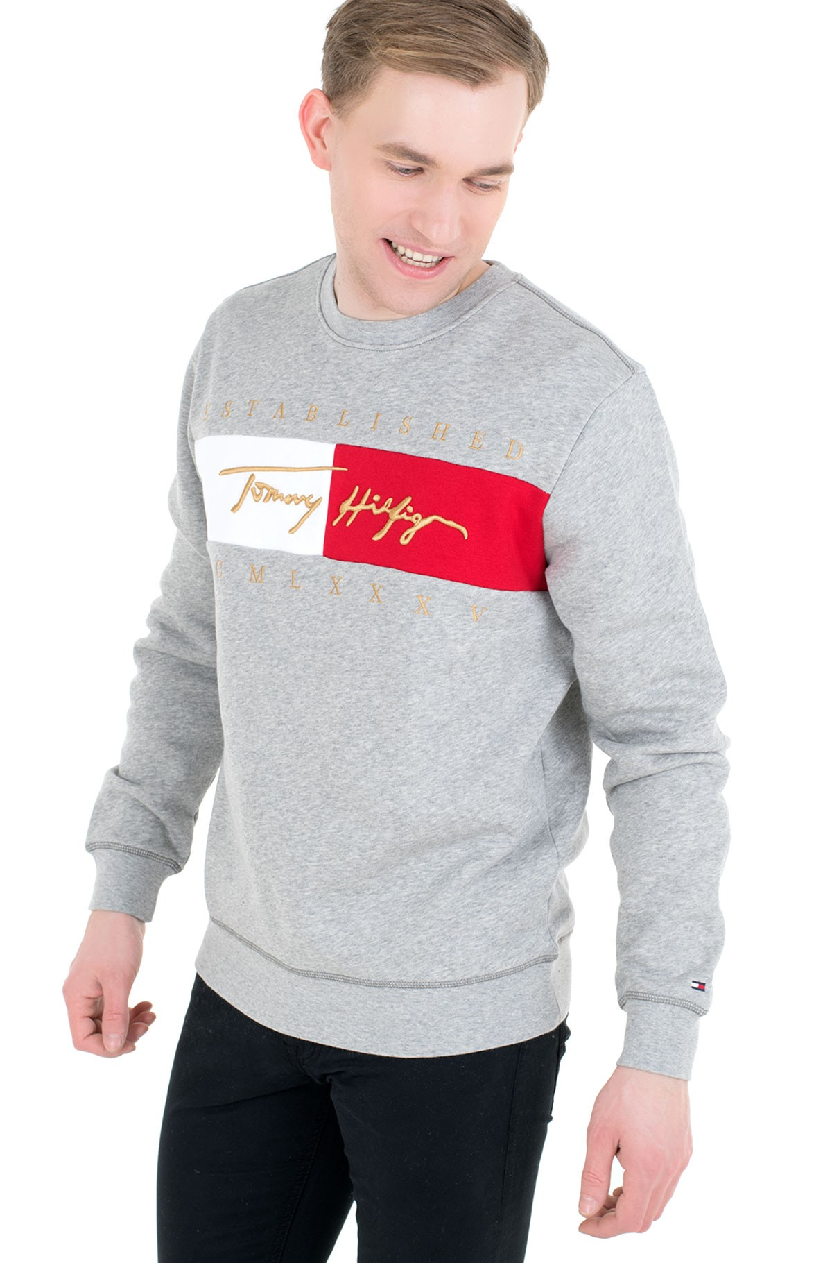 Sporta džemperis SIGNATURE FLAG SWEATSHIRT-full-1