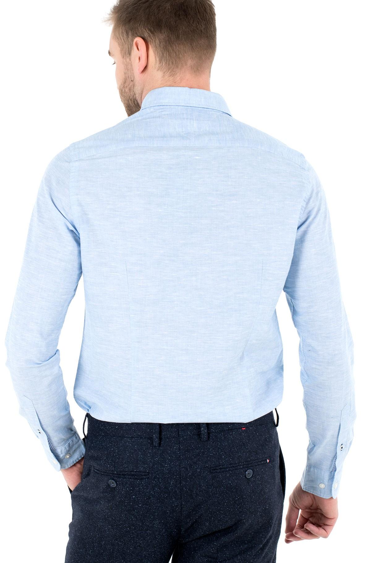 Shirt SLIM CO/LI FIL A FIL SHIRT-full-2