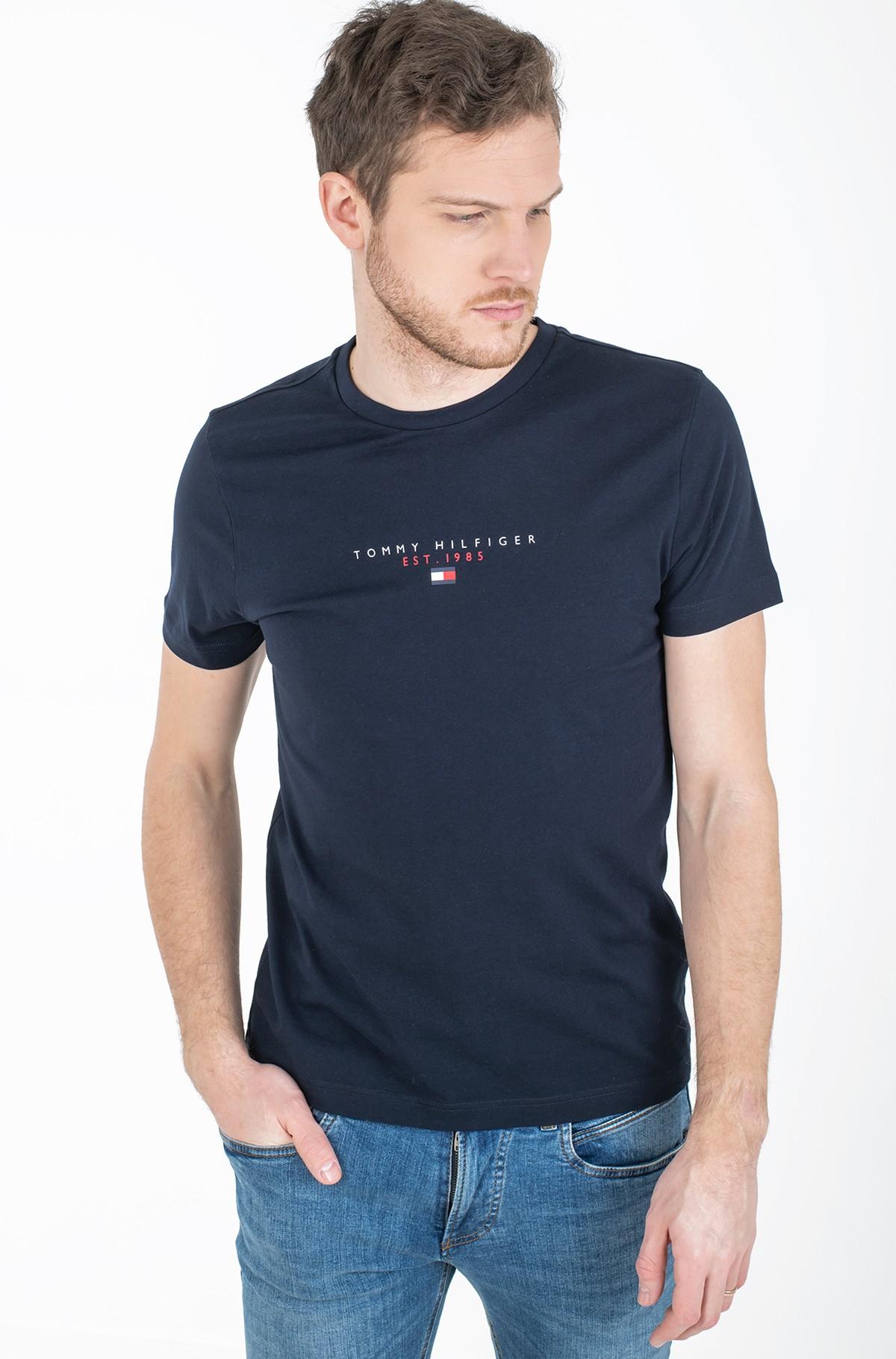 Marškinėliai ESSENTIAL TOMMY TEE-full-1